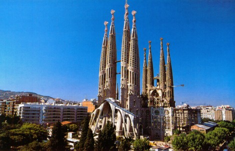 barcelona sagrada familia day
